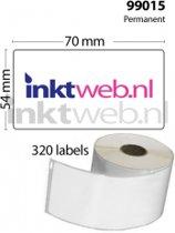 Dymo Label 99015 (10 stuks) wit