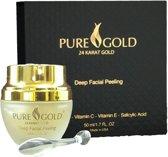 Pure Gold Deep Facial Peeling