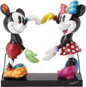 Disney Britto Beeldje Mickey & Minnie Mouse 17,5 cm