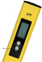Digitale PH Meter - LCD Geel Prof. / PH Meter
