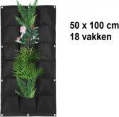 Verticale tuin met 18 grote vakken - 100cm x 50cm-