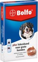 Bolfo Plus Vlooien en Tekenband - Grote Hond