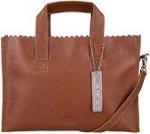 MYOMY MY PAPER BAG Mini handbag crossbody - rambler brandy
