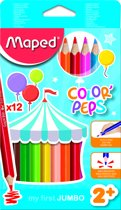 Color'peps kleurpotlood Maxi x 12