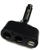 Duo Sigarettenaansteker Adapter Distributeur +2x U