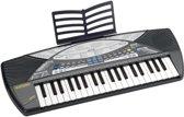 Bontempi Keyboard Digitaal 40 Toetsen Grijs 68 Cm