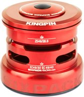 Sixpack Kingpin 2In1 Headset ZS49/28.6 I EC49/30 and ZS49/28.6 I EC49/40, red