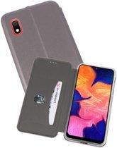 Slim Folio Case voor Samsung Galaxy A10 Grijs