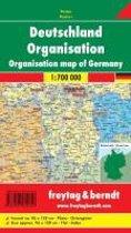 Deutschland Organisation 1 : 700 000. Planokarte