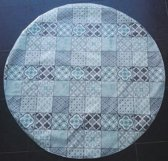 Palace Fashion Tafelzeil - Rond 160 cm - Blue Grey
