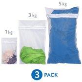Mesh Waszakken Met Rits Set Small/Large/Medium - Laundry Bags Wasnetjes - BH/Lingerie/Sokken/Schoenen - 3 Stuks