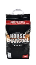 House of Charcoal Premium Houtskool - 4kg - FSC