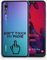 Huawei P20 Pro Uniek TPU Hoesje Finger DTMP