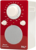 Tivoli Audio PAL BT - Draagbare radio in Rood