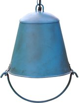 Fairtrade / Duurzame Lamp Bhinai Blauw