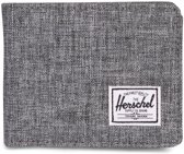 Herschel Supply Co. Roy + Coin Portemonnee - RFID - Raven Crosshatch
