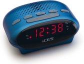 Ices Icr-210 - Wekkerradio - Blauw