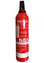 Spraybrandblusser S750-EF ABF met houder