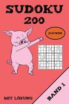 Sudoku 200 Schwer Mit L sung Band 1