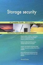 Storage security A Complete Guide - 2019 Edition