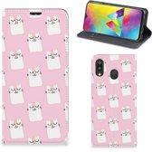 Samsung Galaxy M20 Hoesje maken Sleeping Cats