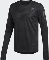 adidas Response Longsleeve Tee M Sporttrui Heren - Black