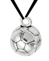 ketting- Voetbal- zwart koord