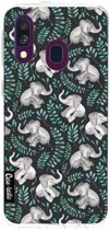 Casetastic Softcover Samsung Galaxy A40 (2019) - Laughing Baby Elephants
