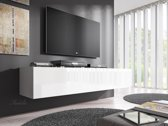 TV-Meubel Flame - Wit - 160 cm