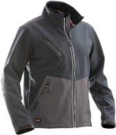 1248 Soft Shell Advanced Jacket Graphite/Bla xxl