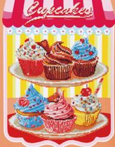 Diamond Dotz ® painting Cup Cakes (40,6x50,8 cm) - Diamond Painting