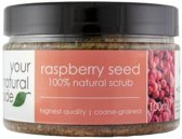 Your Natural Side Raspberry Seed Scrub 100ml.