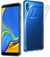 Samsung Galaxy A7 2018 hoesje - Soft TPU case - transparant