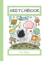 Sketchbook For Boys