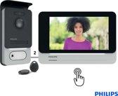 Deurbel met camera, 2 draads, 7″ touch scherm, RFID tags | Philips WelcomeEye Touch – DES 9700 VDP - Doorsafe 8231