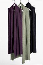 Loop.a life - Wool2 Scarf NewDuurzame Sjaal - Olijf - Maat -