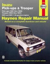 Isuzu Trooper and Pick-up (81-93) Automotive Repair Manual