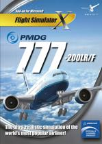 PMDG 777-200LR / F - Flight Simulator X - Add-On - Windows