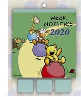 VIS Weekkalender 2020 + Post-its