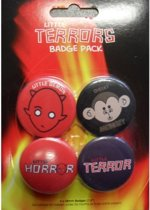 Little Terrors Buttons - Badge Pack
