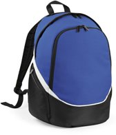 Quadra Pro Team Backpack QS255 Zwart-Bright Royal-Wit