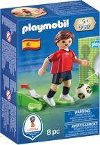 PLAYMOBIL Nationale voetbalspeler Spanje - 9517