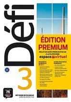 Défi 3 Livre de l'élève + CD Version Premium