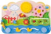 Afbeelding van Bigjigs - Activiteiten centrum - Bloemen speelgoed