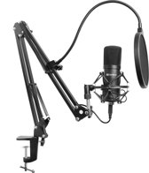 Sandberg Streamer USB Microphone Kit Microfoon voor studio's Bedraad Zwart