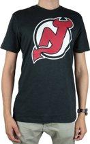 47 Brand NHL New Jersey Devils Tee 345718, Mannen, Grijs, T-shirt maat: L EU