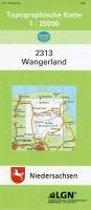Wangerland 1 : 25 000. (TK 2313/N)