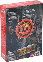 Lifetime Games Drinkspel Dartbord Magnetisch 25 Ml 3-delig