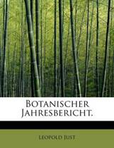 Botanischer Jahresbericht.