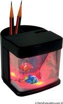 Pennenbak aquarium & licht b/o